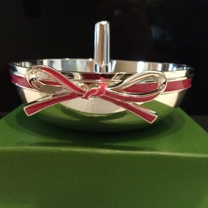 Kate Spade Ring Holder with Pink Bow
